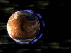 Ученые NASA объяснили, как Солнце «сдуло» атмосферу Марса