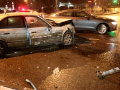 В массовом ДТП в центре Москвы пострадали два человека