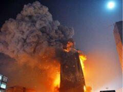 В результате пожара в небоскребе в Чикаго пострадали 5 человек