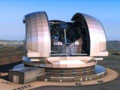 В пустыне Чили начали строить самый большой в мире телескоп