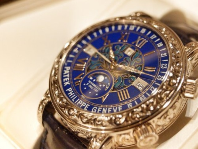 0f3259e234b769 6, самые дорогие часы Накануне в Швейцарии на аукционе продали самые  дорогие наручные ...