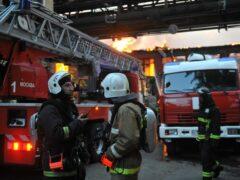 Человек пострадал при вспышке газа на юго-востоке Москвы
