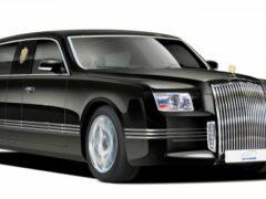 Российский лимузин для президента Путина покажут в ближайшие дни