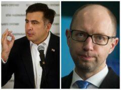 Саакашвили обвинил Яценюка в том, что тот «морит» министров голодом