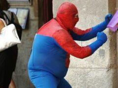 В Нью-Йорке полиция арестовала Человека-паука