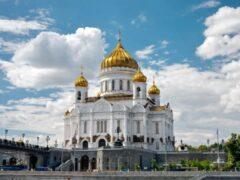 МЧС проверяет Храм Христа Спасителя из-за угрозы взрыва