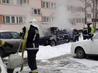 пожар авто