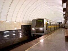 В Москве пассажир остановил поезд метро из-за галлюцинации