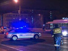 В Москве в ДТП с маршрутным такси пострадали четыре человека
