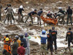 В Китае спасатели обнаружили тело одного погибшего при сходе оползня