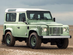 Land Rover Defender станет пикапом нового поколения