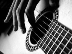 В Канаде мужчина с мачете напал на прохожего с гитарой