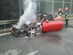 Водителю сгоревшего в ДТП Ferrari предъявили заочное обвинение