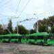На Светлановском проспекте в Петербурге столкнулись два троллейбуса