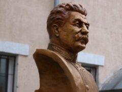 В Луганске открыли памятник Сталину