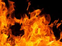 При пожаре в частном доме в Коломне пострадал человек