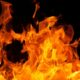 В Кузбассе ночью горели три автомобиля
