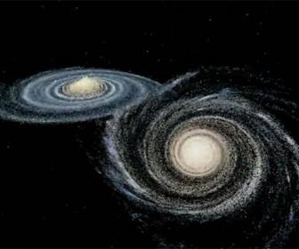 галактики Млечный Путь и Андромеда