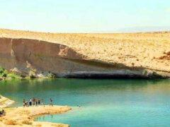 В центре пустыни в Тунисе за сутки образовалось озеро