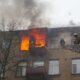 В Жабинке пожарные спасли троих жильцов горевшей квартиры