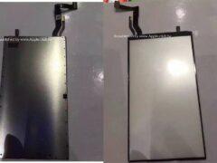 В Интернете появились снимки модуля подсветки дисплея для iPhone 7