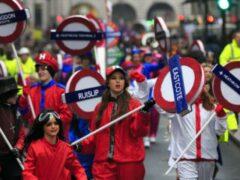 Традиционный парад в Лондоне собрал полмиллиона зрителей