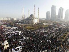 В Чечне намерены собрать на митинг 750 тысяч человек