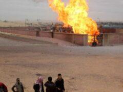 СМИ: газопровод подорван на севере Синайского полуострова в Египте