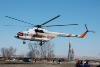 вертолет санитарный