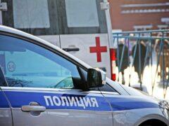 В Самаре произошло ДТП с участием полицейского автомобиля