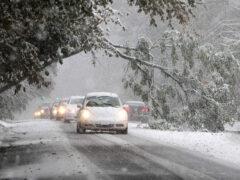 Полиция: в США сильный снегопад стал причиной более 800 ДТП