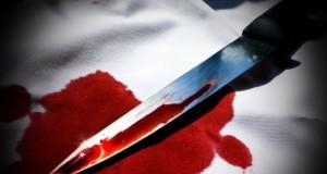 нож кровь