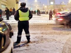 Полицейские в погоне за преступниками открыли стрельбу в Москве