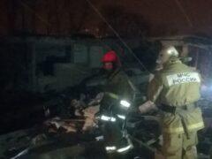 В Армавире прогремел мощный взрыв в гаражном комплекcе