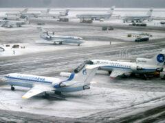 Более 100 рейсов отменено и задержано в аэропортах Москвы