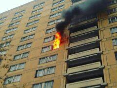 Пожар в новостройке ликвидирован на западе Москвы