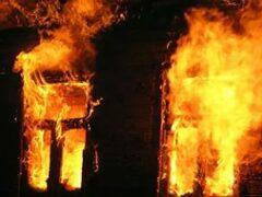 На пожаре в Бобруйском районе погибли два брата