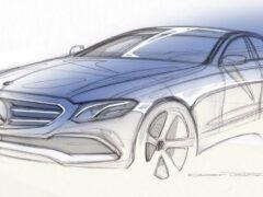 В Сеть «утекли» официальные снимки нового Mercedes-Benz E-Class