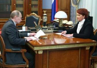Путин и Скрынник