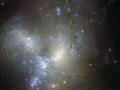 «Хаббл» получил снимки рождающейся галактики в созвездии Эридана