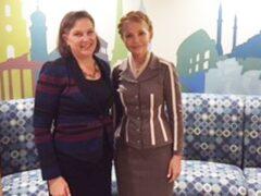 Тимошенко призвала США и Британию к участию в переговорах по Донбассу