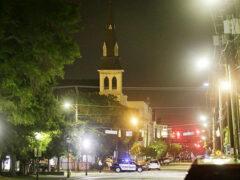 В отеле Нью-Йорка мужчина с ножом напал на женщину с тремя детьми