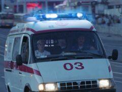 Рейсовый автобус врезался в грузовик на трассе в Ленобласти