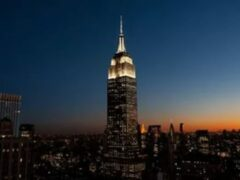 В самый известный небоскреб Нью-Йорка врезался беспилотник