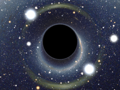 Ученые измерили диаметр самой крупной черной дыры Вселенной