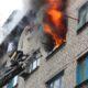 760 человек эвакуировали в Минске из-за пожара в общежитии БГУ