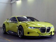 BMW подтвердил выпуск экстремального купе M2 CSL в 2017 году