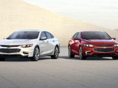Компания Chevrolet выпустит экономичный седан Malibu Hybrid