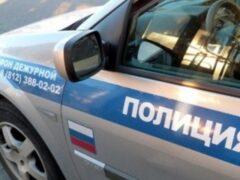 В Ярославле женщина на иномарке протаранила полицейскую машину