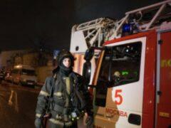 В московском автосалоне Infiniti произошел пожар